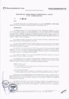 Resolución de la Oficina General de Administración y Finanzas N° 005-2018-MML/IMPL/OGAF