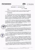 Resolución de la Oficina General de Administración y Finanzas N° 006-2019-MML/IMPL/OGAF