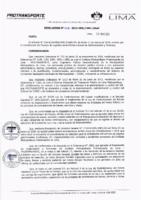 Resolución de la Oficina General de Administración y Finanzas N° 008-2019-MML/IMPL/OGAF
