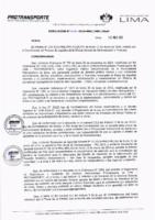 Resolución de la Oficina General de Administración y Finanzas N° 009-2019-MML/IMPL/OGAF