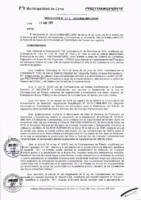 Resolución de la Oficina General de Administración y Finanzas N° 013-2018-MML/IMPL/OGAF