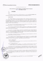 Resolución de la Oficina General de Administración y Finanzas N° 014-2018-MML/IMPL/OGAF