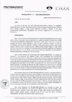Resolución de la Oficina General de Administración y Finanzas N° 014-2019-MML/IMPL/OGAF