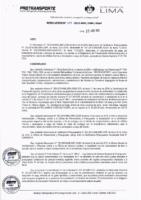 Resolución de la Oficina General de Administración y Finanzas N° 015-2019-MML/IMPL/OGAF