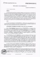 Resolución de la Oficina General de Administración y Finanzas N° 018-2018-MML/IMPL/OGAF