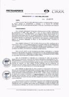 Resolución de la Oficina General de Administración y Finanzas N° 018-2019-MML/IMPL/OGAF