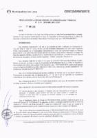 Resolución de la Oficina General de Administración y Finanzas N° 019-2018-MML/IMPL/OGAF