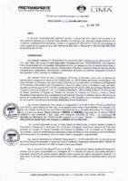 Resolución de la Oficina General de Administración y Finanzas N° 019-2019-MML/IMPL/OGAF
