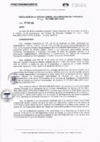 Resolución de la Oficina General de Administración y Finanzas N° 020-2019-MML/IMPL/OGAF