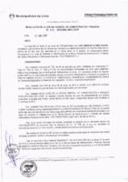 Resolución de la Oficina General de Administración y Finanzas N° 021-2018-MML/IMPL/OGAF
