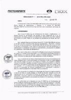 Resolución de la Oficina General de Administración y Finanzas N° 021-2019-MML/IMPL/OGAF