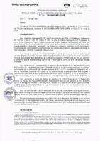 Resolución de la Oficina General de Administración y Finanzas N° 022-2019-MML/IMPL/OGAF