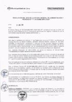 Resolución de la Oficina General de Administración y Finanzas N° 023-2018-MML/IMPL/OGAF