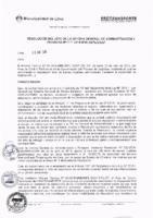 Resolución de la Oficina General de Administración y Finanzas N° 025-2018-MML/IMPL/OGAF