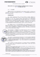 Resolución de la Oficina General de Administración y Finanzas N° 026-2019-MML/IMPL/OGAF