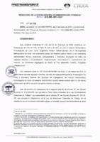 Resolución de la Oficina General de Administración y Finanzas N° 029-2019-MML/IMPL/OGAF