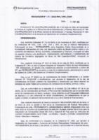Resolución de la Oficina General de Administración y Finanzas N° 030-2018-MML/IMPL/OGAF