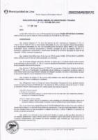 Resolución de la Oficina General de Administración y Finanzas N° 032-2018-MML/IMPL/OGAF