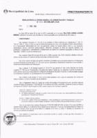 Resolución de la Oficina General de Administración y Finanzas N° 033-2018-MML/IMPL/OGAF