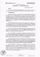 Resolución de la Oficina General de Administración y Finanzas N° 039-2018-MML/IMPL/OGAF