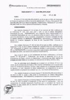 Resolución de la Oficina General de Administración y Finanzas N° 040-2018-MML/IMPL/OGAF