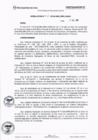 Resolución de la Oficina General de Administración y Finanzas N° 045-2018-MML/IMPL/OGAF