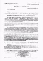 Resolución de la Oficina General de Administración y Finanzas N° 047-2018-MML/IMPL/OGAF