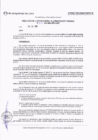 Resolución de la Oficina General de Administración y Finanzas N° 049-2018-MML/IMPL/OGAF