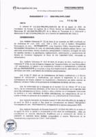 Resolución de la Oficina General de Administración y Finanzas N° 051-2018-MML/IMPL/OGAF