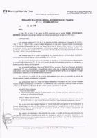 Resolución de la Oficina General de Administración y Finanzas N° 052-2018-MML/IMPL/OGAF