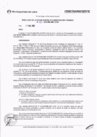 Resolución de la Oficina General de Administración y Finanzas N° 056-2018-MML/IMPL/OGAF