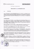 Resolución de la Oficina General de Administración y Finanzas N° 060-2018-MML/IMPL/OGAF