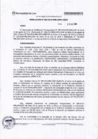 Resolución de la Oficina General de Administración y Finanzas N° 061-2018-MML/IMPL/OGAF