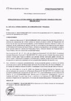 Resolución de la Oficina General de Administración y Finanzas N° 062-2018-MML/IMPL/OGAF