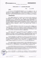 Resolución de la Oficina General de Administración y Finanzas N° 063-2018-MML/IMPL/OGAF