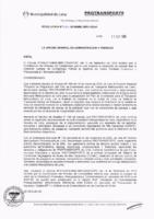 Resolución de la Oficina General de Administración y Finanzas N° 064-2018-MML/IMPL/OGAF