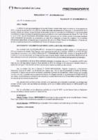 Resolución de la Oficina General de Administración y Finanzas N° 066-2018-MML/IMPL/OGAF