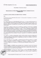 Resolución de la Oficina General de Administración y Finanzas N° 070-2018-MML/IMPL/OGAF