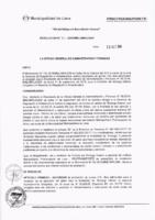 Resolución de la Oficina General de Administración y Finanzas N° 071-2018-MML/IMPL/OGAF