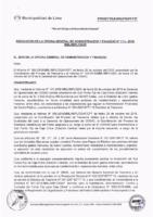 Resolución de la Oficina General de Administración y Finanzas N° 074-2018-MML/IMPL/OGAF