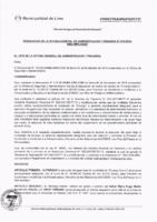 Resolución de la Oficina General de Administración y Finanzas N° 075-2018-MML/IMPL/OGAF