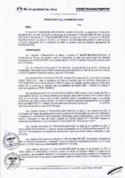 Resolución de la Oficina General de Administración y Finanzas N° 083-2018-MML/IMPL/OGAF