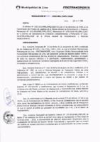 Resolución de la Oficina General de Administración y Finanzas N° 084-2018-MML/IMPL/OGAF