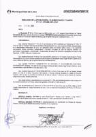 Resolución de la Oficina General de Administración y Finanzas N° 086-2018-MML/IMPL/OGAF