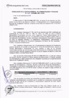 Resolución de la Oficina General de Administración y Finanzas N° 087-2018-MML/IMPL/OGAF