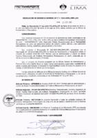 003-2019-OGAF Normas para la Administración y Control de Bienes Muebles Patrimoniales del Instituto Metropolitano Protransporte de Lima