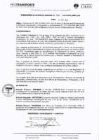 004-2019-OTI Actualización y/o Publicación de Información en los Sitios Web del Instituto Metropolitano Protransporte de Lima y del Portal de Transparencia Estándar