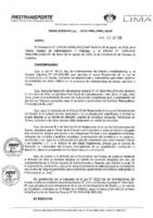 Resolución de la Oficina General de Administración y Finanzas N° 046-2019-MML/IMPL/OGAF